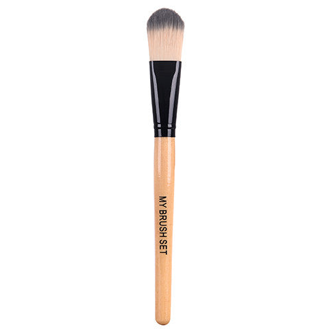 Foundation Brush , Make Up Brush - MyBrushSet, My Make-Up Brush Set  - 3