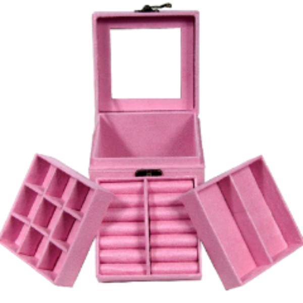 Makeup and Jewelry Box , Make Up Brush - MyBrushSet, My Make-Up Brush Set  - 3