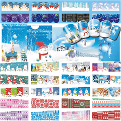 Christmas Nail Stickers ,  - My Make-Up Brush Set - US, My Make-Up Brush Set  - 1