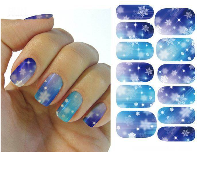 Christmas Nail Stickers - Snowflakes ,  - My Make-Up Brush Set - US, My Make-Up Brush Set  - 2