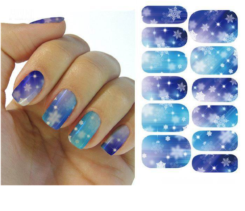 Christmas Nail Stickers - Snowflakes