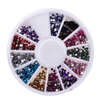 12 Color Nailart Manicure Wheels , BODY CARE - My Make-Up Brush Set, My Make-Up Brush Set  - 2