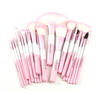 Babylicious Pink Heart 24 Piece Set , Make Up Brush - MyBrushSet, My Make-Up Brush Set  - 1