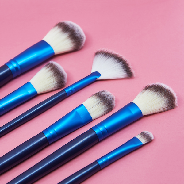 24 Piece Ocean Blue Brush Set
