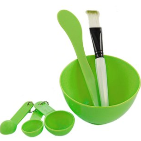 Facial Mask Mixing Bowl Set , Beauty Blender - My Make-Up Brush Set, My Make-Up Brush Set  - 1