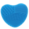 Heart Shape Silicone Cosmetic Brush Cleaner Board ,  - My Make-Up Brush Set, My Make-Up Brush Set  - 3