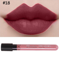 Matte Liquid Lipsticks Burgundy #18,  - My Make-Up Brush Set, My Make-Up Brush Set  - 11