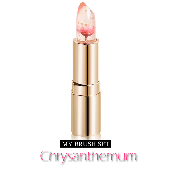 Chrysanthemum , lipstick - My Make-Up Brush Set, My Make-Up Brush Set