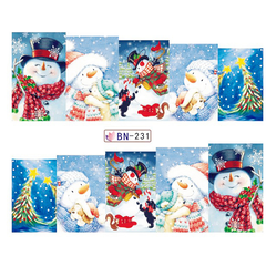 Christmas Nail Stickers ,  - My Make-Up Brush Set - US, My Make-Up Brush Set  - 2