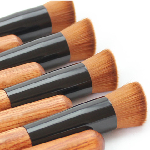 1 Piece Premium Wood Multi-Function Brush , Make Up Brush - My Make-Up Brush Set, My Make-Up Brush Set  - 4