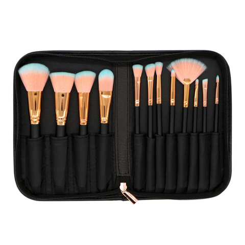 12 Piece Go For Gold Brush Set