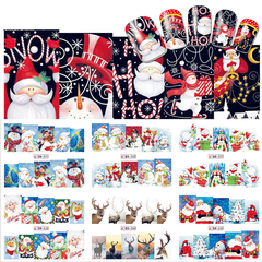 Christmas Nail Stickers ,  - My Make-Up Brush Set - US, My Make-Up Brush Set  - 4