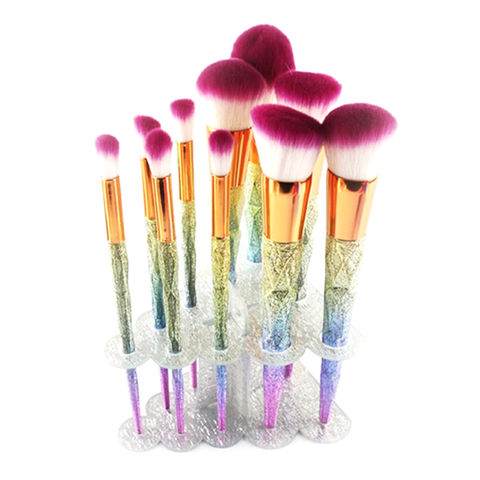 tree cluster makeup brush holder  my make up brush set