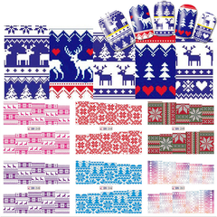 Christmas Nail Stickers ,  - My Make-Up Brush Set - US, My Make-Up Brush Set  - 3