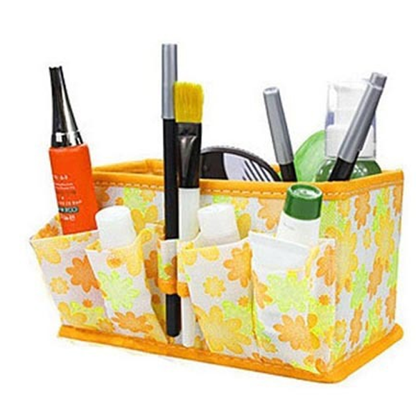 Easy Store Make Up Kit Yellow, Make Up Brush - MyBrushSet, My Make-Up Brush Set  - 4