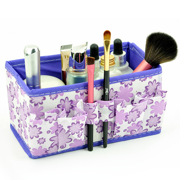 Easy Store Make Up Kit Purple, Make Up Brush - MyBrushSet, My Make-Up Brush Set  - 2