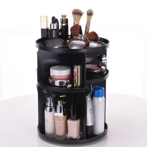 360 Degree Rotating Makeup Vanity