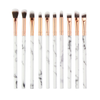 10 Piece Marble makeup  Brush Set