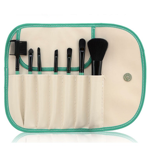 7 Piece Brush Set White and Green ,  - My Make-Up Brush Set, My Make-Up Brush Set  - 3