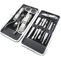 12 Piece Nail Clipper Kit , Make Up Brush - MyBrushSet, My Make-Up Brush Set  - 1