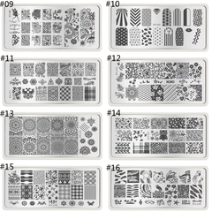 Nail Art Stamps ,  - My Make-Up Brush Set, My Make-Up Brush Set  - 5