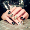 Black Rhinestone Finished Nails  [PRE-RELEASE] , Nail - My Make-Up Brush Set, My Make-Up Brush Set  - 2