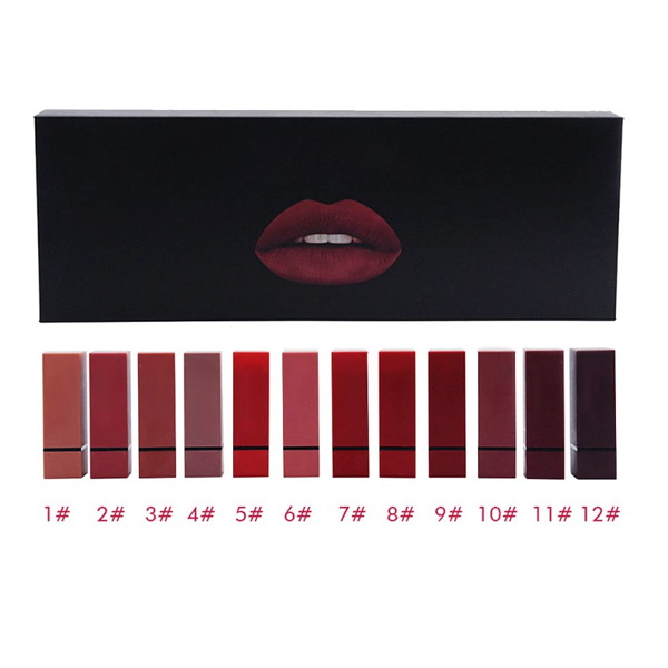 Pro Velvet Matte Lip Kit (12 Piece)