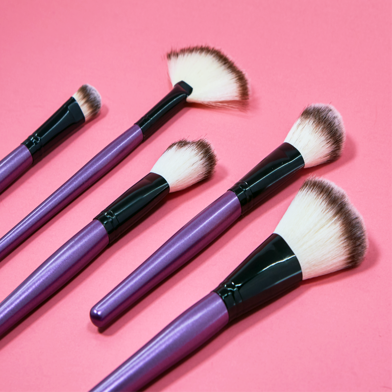 24 Piece Purple Tulip Brush Set
