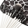 10 Piece Beauty Eyeshadow Brush Kit Set Wood Makeup Brushes Set With Printed Pouch Bag ,  - My Make-Up Brush Set, My Make-Up Brush Set  - 2