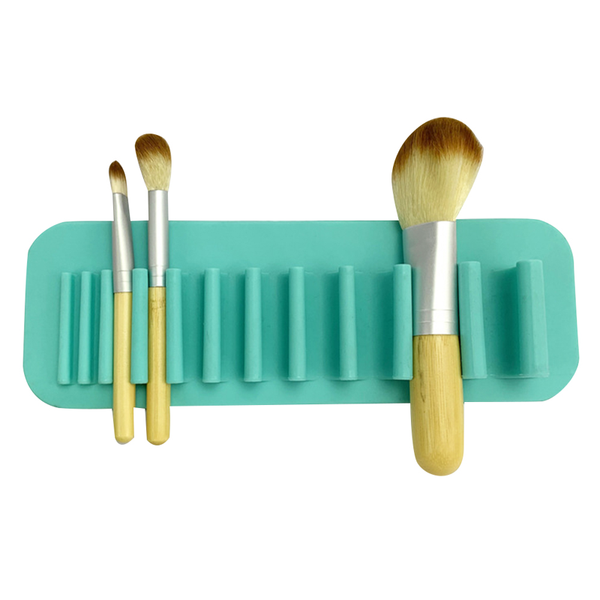 Stick & Dry Makeup Brush Rack