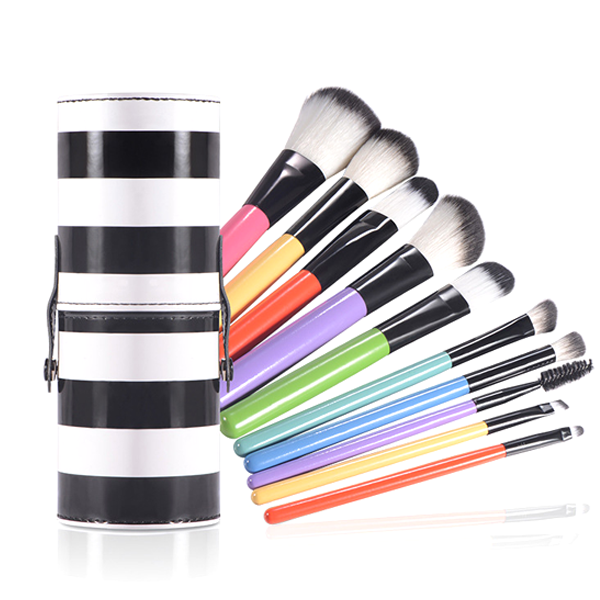MultiColor Stripped Brush Set