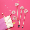 5 Piece Hermione Rotating Time Turner Inspired Brush Set