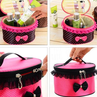 Portable BowKnot Travel Bag