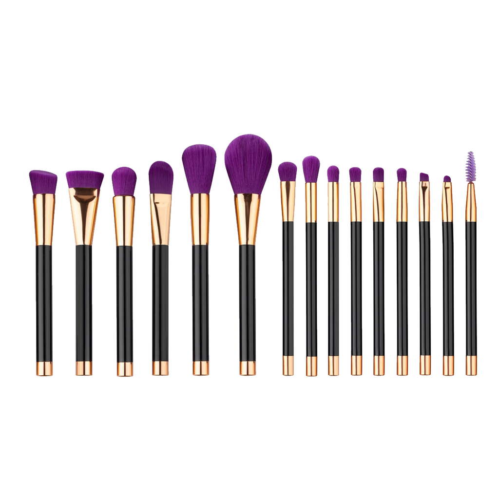 15 Piece True Royalty Brush Set