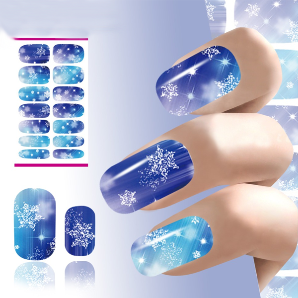 Christmas Nail Stickers - Snowflakes ,  - My Make-Up Brush Set - US, My Make-Up Brush Set  - 1