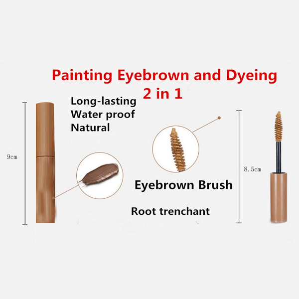 3 Color Long Lasting Eyebrow Enhancer Mascara Cream ,  - My Make-Up Brush Set - US, My Make-Up Brush Set  - 3
