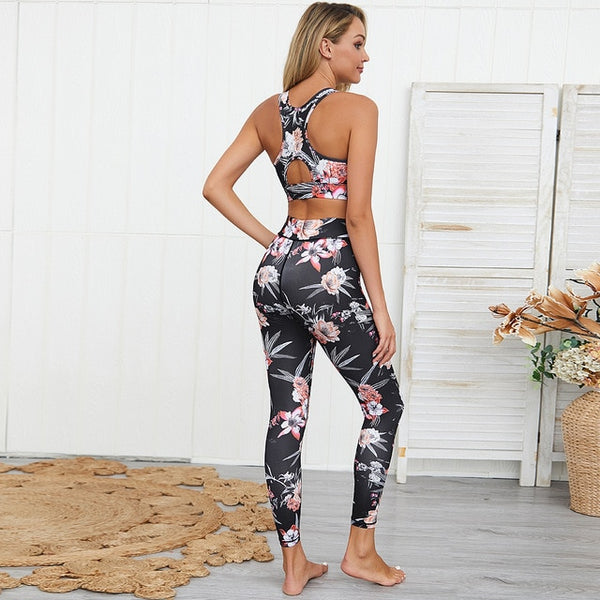 Sports Suit Yoga Set Gym Fitness