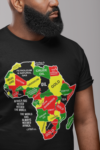 Africa Has Never Needed The World | Unisex Tee