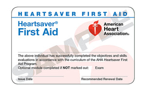 Blended Heartsaver® First Aid Course