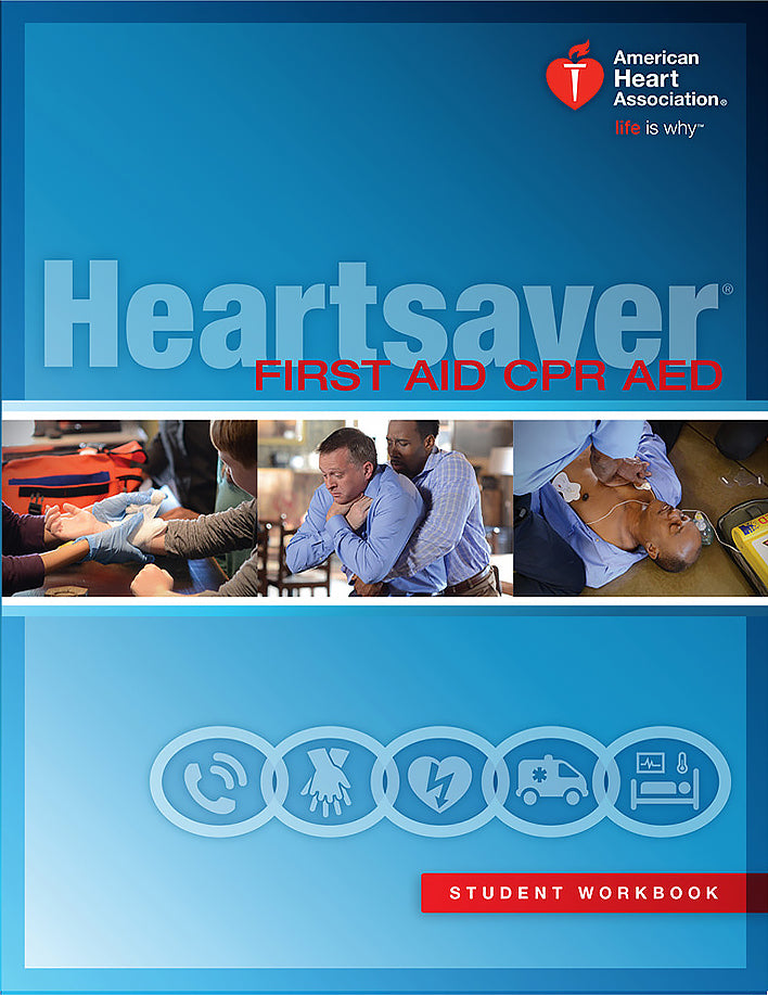 Blended Heartsaver® First Aid CPR AED Course (part 1 e-Learning)