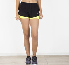 Shorts deportivos color amarillo (+colores)