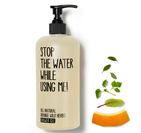 Gel de ducha de naranja y hierbas, Stop The Water