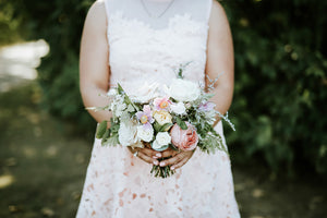 Bridesmaid Bouquet / Petite Bridal Bouquet