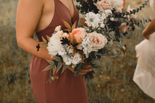 Load image into Gallery viewer, Bridesmaid Bouquet / Petite Bridal Bouquet
