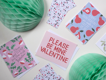 Load image into Gallery viewer, Please Be Mine Valentine - Valentine's Day Card