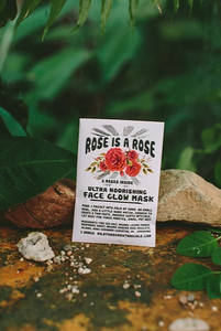 Rose is a Rose Face Glow Mask