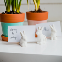 Load image into Gallery viewer, Bunny Place Card Holders (Set of 5)