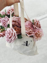 Load image into Gallery viewer, Floralista Logo Tote