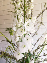 Load image into Gallery viewer, Delphinium Vase Arrangement