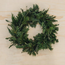 Load image into Gallery viewer, Winter Greens Wreath - Large